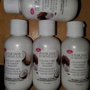 4 physicians formula makeup removers coconut new